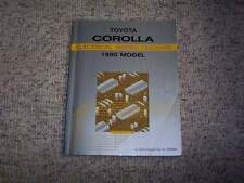 1990 Toyota Corolla Electrical Wiring Diagram Manual LE DX SR5 GTS 1.6L 4Cyl
