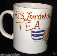 ANDREW BROWNSWORD FOREVER FRIENDS HIS LORDSHIP'S TEA MUG TEDDY BEAR ENGLAND