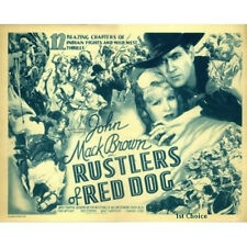 Rustlers of Red Dog - Classic Movie Cliffhanger Serial DVD  Johnny Mack Brown