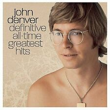 2 DISC CD JOHN DENVER ALL-TIME GREATEST HITS 24 SONGS with Rocky Mountain High