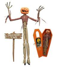 NIGHTMARE BEFORE CHRISTMAS PUMPKIN KING JACK COFFIN DOLL