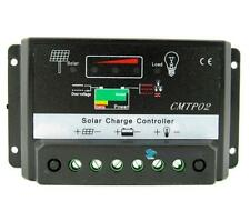 10A MPPT Solar Panel Battery Regulator Charge Controller 12V/24V Auto Switch TRC