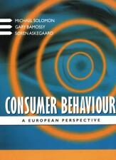 Consumer Behaviour: A European Perspective By Michael R. Solomo .9780137519835