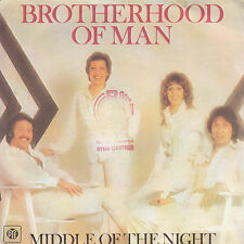 """7"""" 45 TOURS FRANCE BROTHERHOOD OF MAN """"Middle Of The Night +1"""" 1978"""