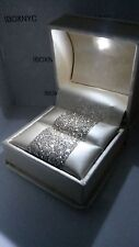 FANCY BRIDAL CHAMPAGNE ITALIAN LEATHER LED LIGHTED ENGAGEMENT RING BOX GIFT BOX