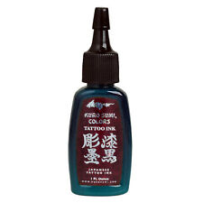 BAMBOO GREEN Kuro Sumi Colors 1 oz Tattoo Ink 1oz