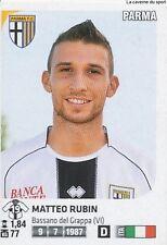 N°394 MATTEO RUBIN PARMA.FC FIGURINE STICKER PANINI CALCIATORI 2012