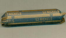 NICE ROLL OF CIRCULATED 1950 CANADA FIVE CENTS, GREAT PRICE!