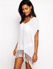 Summer New Style Beach Dress Bikini Cover Up Swimwear Kimono Top One Size 8-12UK