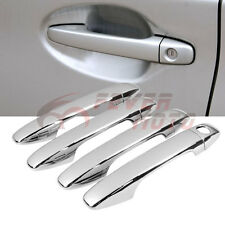 Car Chrome Door Handle Cover Trim For Toyota Prius ZVW30 Venza Sienna 2009-15 FM