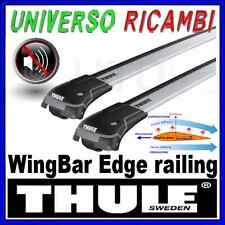 BARRE PORTATUTTO THULE WINGBAR EDGE FIAT Panda Cross 5-p con barre longitudinali