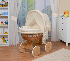 WALDIN Baby Toy wagon,Bassinet XXL NEW Yellow/Beige