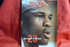 NBA Beckett Magazine Chicago Bulls Michael Jordan Dec 1993