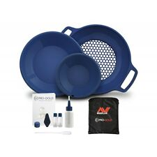 Minelab Pro-Gold Premium Gold Panning Kit - 2 Gold Pans, Classifier and More