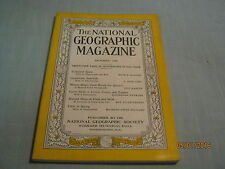 ANTIQUE NATIONAL GEOGRAPHIC October 1936 SPAIN Guatemala THE QUETZAL Game Birds