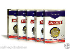 5 Packs EFFICIENT Cigarette Filters (150 Filters) Block & Filter Out Tar & Nic