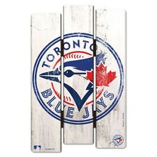 "TORONTO BLUE JAYS FENCE WOOD SIGN 11""X17'' BRAND NEW FREE SHIPPING WINCRAFT"