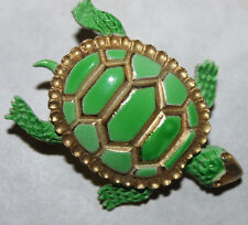 WEISS signed ENAMEL TURTLE PIN-STUNNING AND RARE!!!!!!!!!!!!!!!!!!!!!!