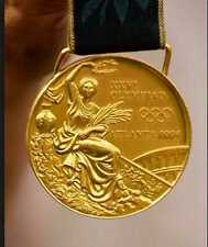 1996 Atlanta Olympic 'Gold' Medal with Silk Ribbon