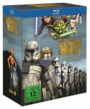 Star Wars: The Clone Wars - Komplettbox Staffel 1-5 [ Blu-ray ]  NEU & OVP
