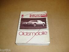 1991 Oldsmobile Eighty Eight Royale 88 service shop dealer repair manual