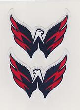 WASHINGTON CAPITALS TEAM LOGO SHOULDER  PATCH WHITE JERSEY LOT OF 2