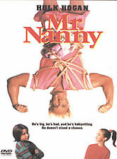 MR. NANNY ~ Rare OOP Family Comedy DVD ~ HULK HOGAN Factory-sealed NEW FREE SHIP