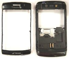 Blackberry Storm 2 9550 Telus Middle And Back Housing Black Plastic