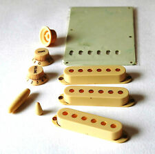 GuitarSlinger Parts - Aged ST Parts Set - Worn White - fits to Strat ®