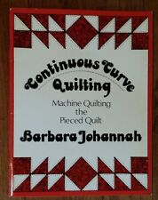 33 PATTERNS! CONTINUOUS CURVE QUILTING (Machine Quilting the Pieced Quilt) Book