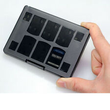 Black 18 in 1 Game Memory Card Case Holder Storages Box for Sony PS Vita PSV A