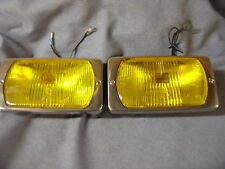 CIBIE YELLOW LAMPS BRITISH FRENCH GERMAN CLASSIC CARS