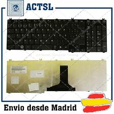 New TOSHIBA Satellite C650 C660 L650 L670 Laptop Keyboard Spanish Teclado Black