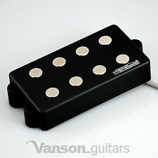 NEW Wilkinson MWM4 Bass Pickup for MM type electric guitars, Black Humbucker