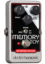 Electro Harmonix Memory Toy Analog Delay Modulation Guitar Effects Pedal Nano
