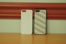 10 Blank Apple iPhone 5/5S Black Plastic Phone Cases Dye Sublimation Wholesale