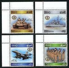 Irak Iraq 2015 Tag der Armee Panzer Soldaten Schiff Flugzeug 1956-59 ** MNH