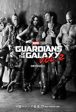 GUARDIANS OF THE GALAXY Vol. 2 MOVIE POSTER 2 Sided ORIGINAL Advance 27x40