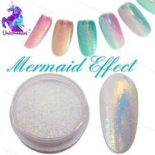 SIRENA effetto Pigmento NAILS ART IN POLVERE Polvere Iridescente TREND GLITTER SPECCHIO 5g