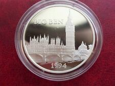 1994 France Large Silver Proof  100 Fr/15 Ecu Big Ben