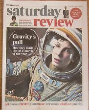 Gravity – Alfonso Cuaron – Times Saturday Review – 26 October 2013