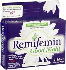 Remifemin Good Night Tablets 21 Tablets (Pack of 6)