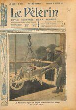 Monks Moines Bénédictins Buckfast Abbey Buckfastleigh Devon 1919 ILLUSTRATION