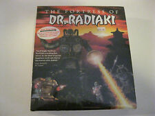 The Fortress of Dr. Radiaki Fps Shooter PC Game CD-ROM - new