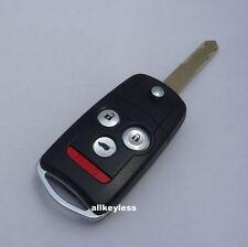 OEM cut ACURA MDX RDX flip key keyless entry remote fob transmitter DRIVER 2
