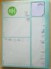 New Daily Desk PLANNER A4 With Sticky Notes 52 Sheets