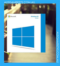 Genuine Windows 10 HOME 32/64-Bit Full version 1 PC with Disk & Key