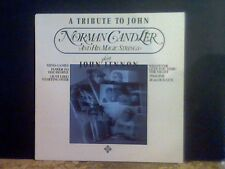 NORMAN CANDLER  A Tribute To John Lennon  LP  German pressing   Lovely copy !