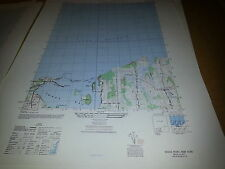 1940's Army topographic map Sodus Bay Lake Ontario Sheet 5670 IV SW