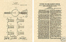 COOLIDGE XRAY PATENT 1913 Art Print READY TO FRAME!!!!! dentist x-ray tube